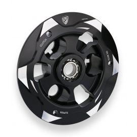 Выжимная пластина сцепления CNC Black/Silver для Ducati