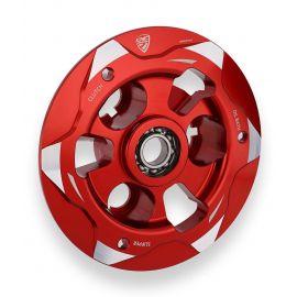 Выжимная пластина сцепления CNC Red/Silver для Ducati Panigale V4 19-21, Streetfighter V4 20-21