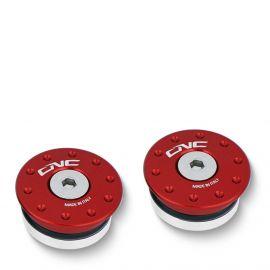 Заглушки оси маятника CNC RACING TT322R Red для Ducati Panigale V4/899/955/959/1199/1299