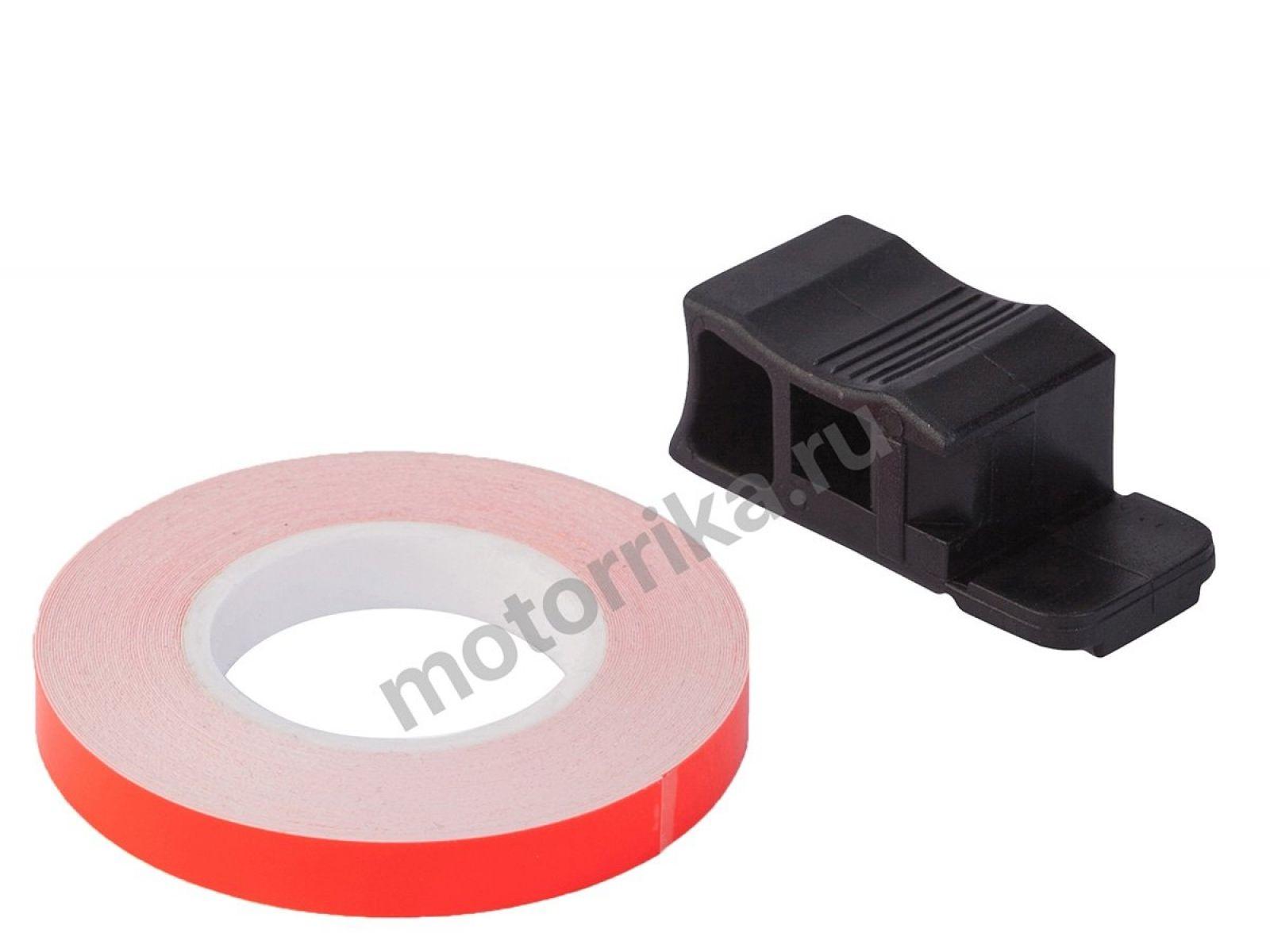 Наклейка на обод колеса Lightech Red Fluo