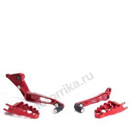 Комплект подножек Lightech для Ducati Hypermotard 821 13-14