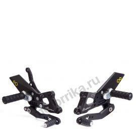 Комплект регулируемых подножек Lightech для Yamaha FZ1 06-14, FZ8 10-14