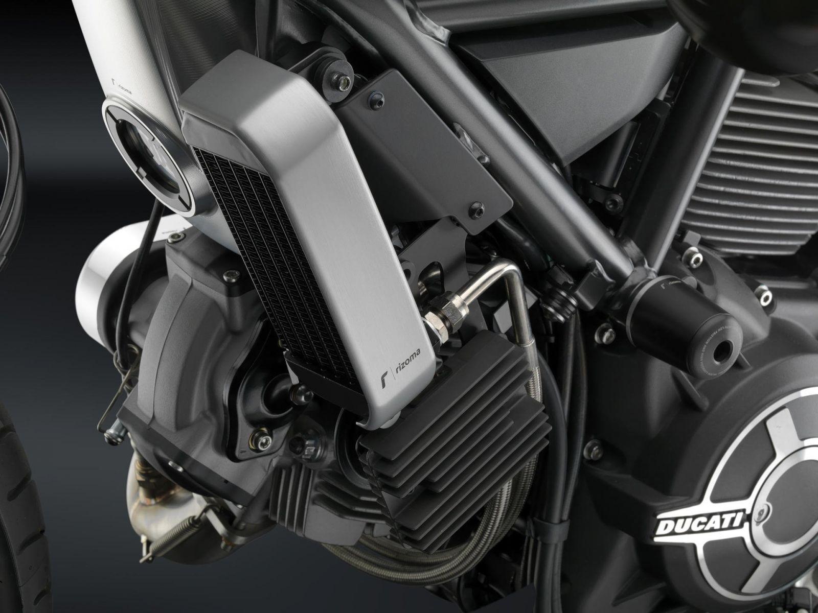 Защита радиатора Rizoma для Ducati Scrambler 15-17