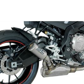 Глушитель SC Project Slip-On CR-T титан титановая сетка BMW S1000RR 17-20