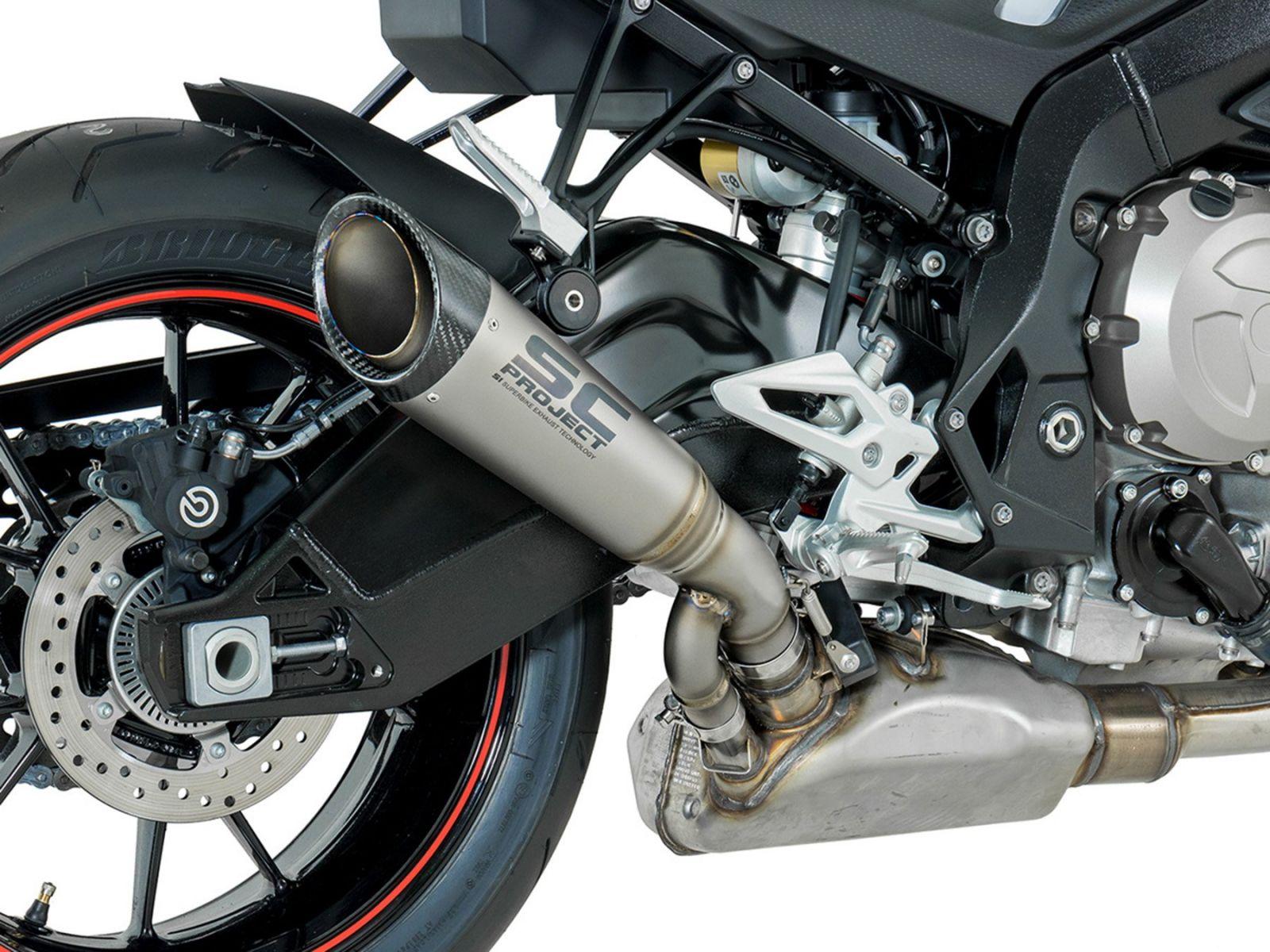Глушитель SC Project S1 для BMW S1000R 17-19