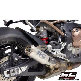Глушитель SC Project Slip-On CR-T титан титановая сетка для BMW S1000RR 19-20