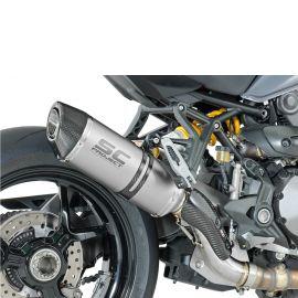 Глушитель SC Project Oval для Ducati Monster 1200 16-19