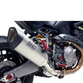 Глушитель SC Project SC1-R для Ducati Monster 821 18-19