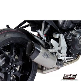 Глушитель SC Project Slip-On SC1-R титан для Honda CB1000R Neo Sport Cafe 18-20
