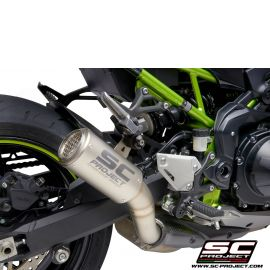 Глушитель SC Project Slip-On CR-T титан с титановой сеткой для Kawasaki Z900 20
