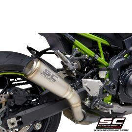Глушитель SC Project Slip-On S1-GP титан для Kawasaki Z900 20