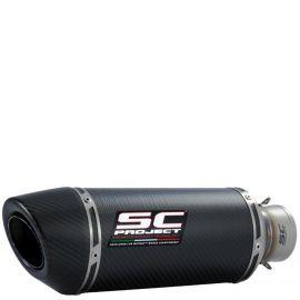 Глушитель SC Project Oval карбон универсальный 60 мм