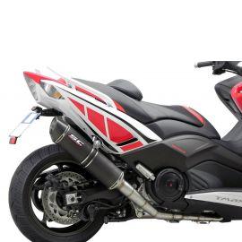 Выхлопная система SC Project Oval для Yamaha T-MAX 530 12-16