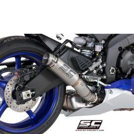 Глушитель SC Project Slip-On GP-70R титан для Yamaha R6 17-20