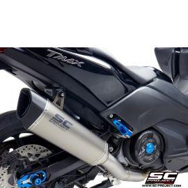 Выхлопная система SC Project SC1-R сталь титан для Yamaha TMAX 530 17-19