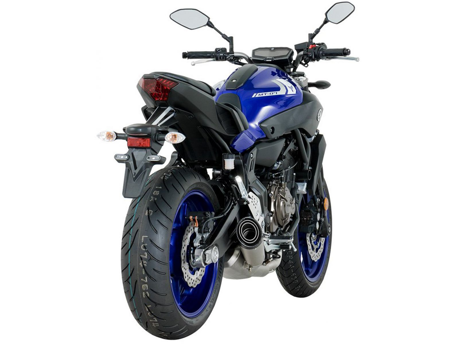 Выхлопная система SC Project S1 для Yamaha MT-07 17-19