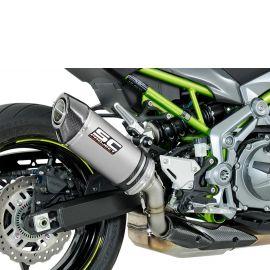 Глушитель SC Project Oval для Kawasaki Z900 17-18