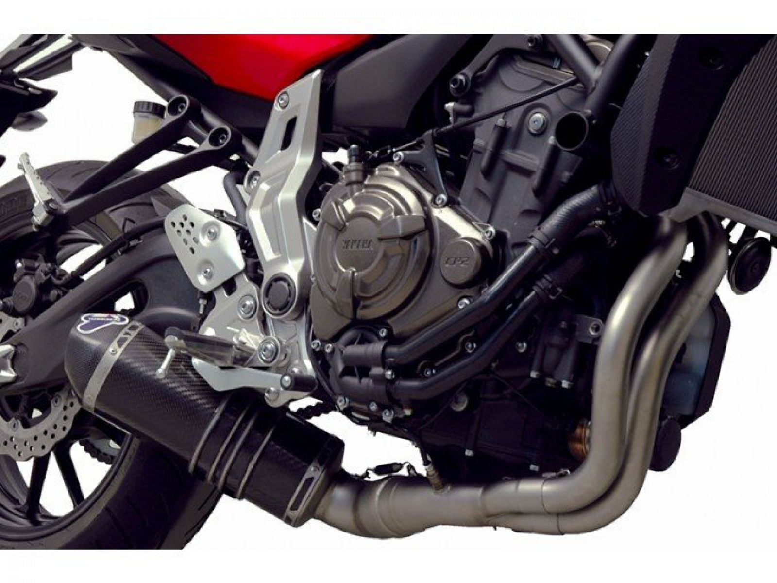 Глушитель Termignoni для Yamaha MT-07 14-16