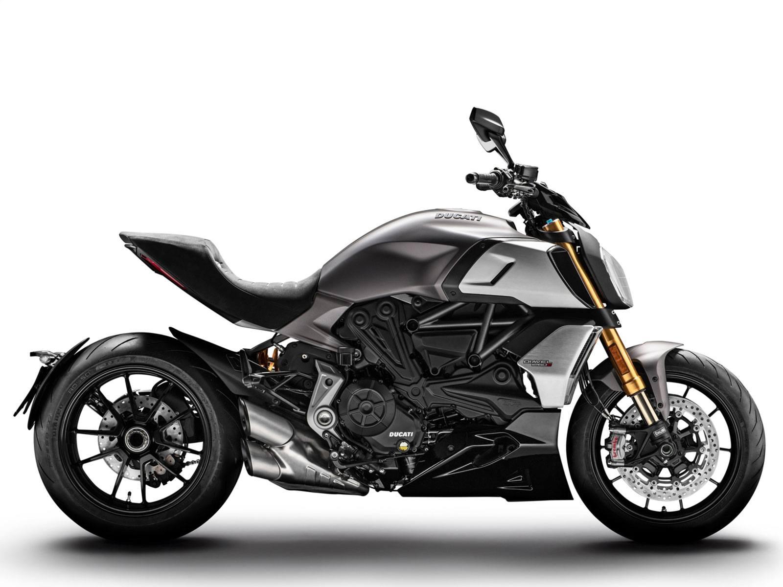 Мотоцикл DUCATI Diavel 1260 S - Sandstone Grey (2019)