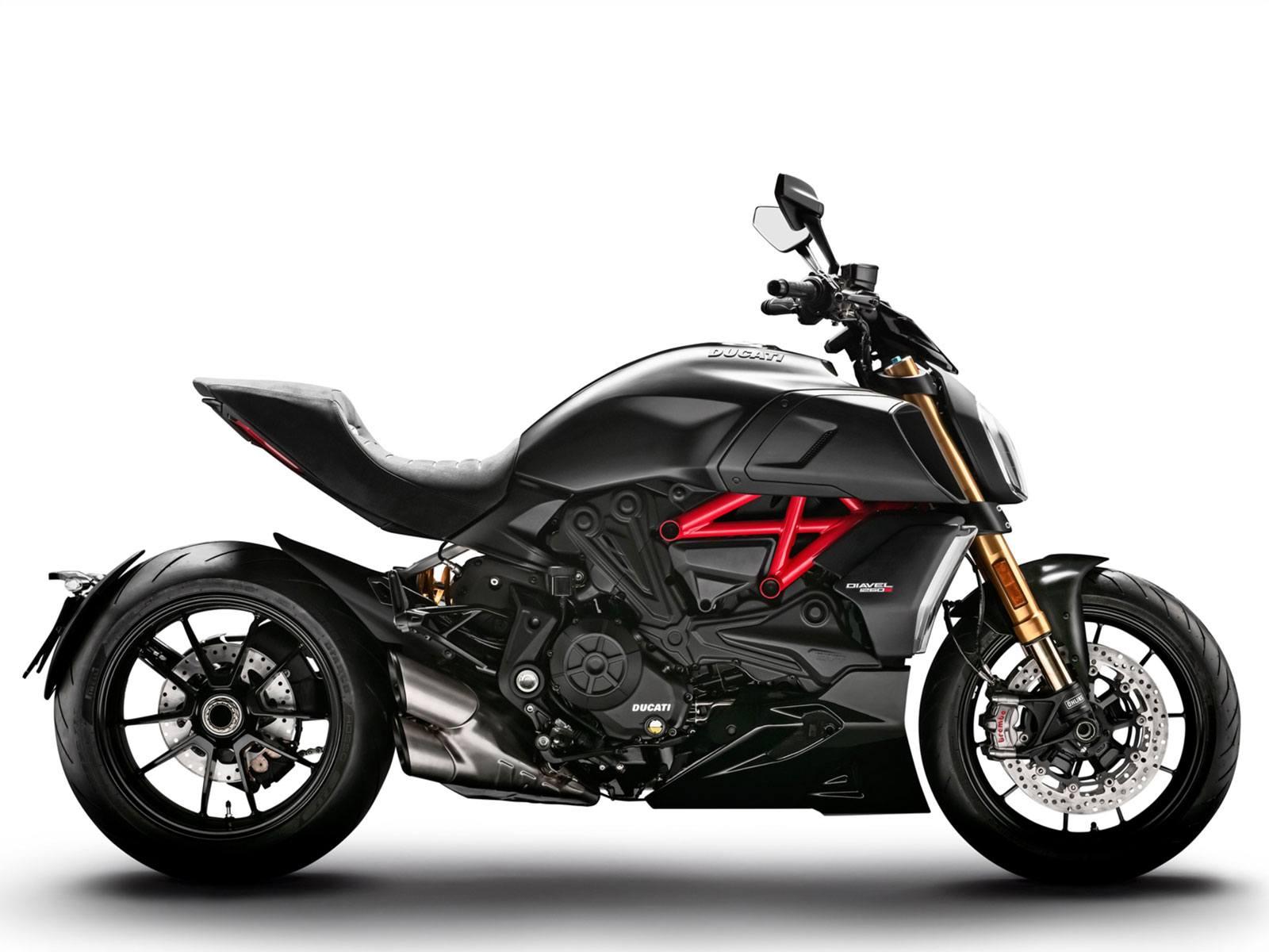 Мотоцикл DUCATI Diavel 1260 S - Total Black (2019)