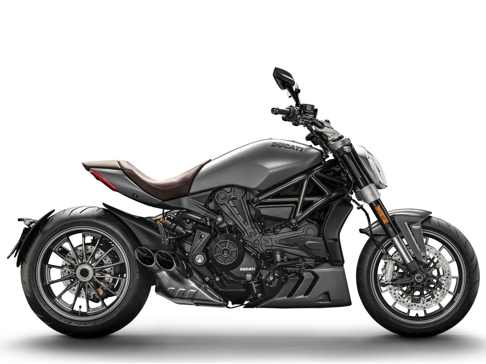 Мотоцикл DUCATI XDiavel - Matt Liquid Concrete Grey (2019)