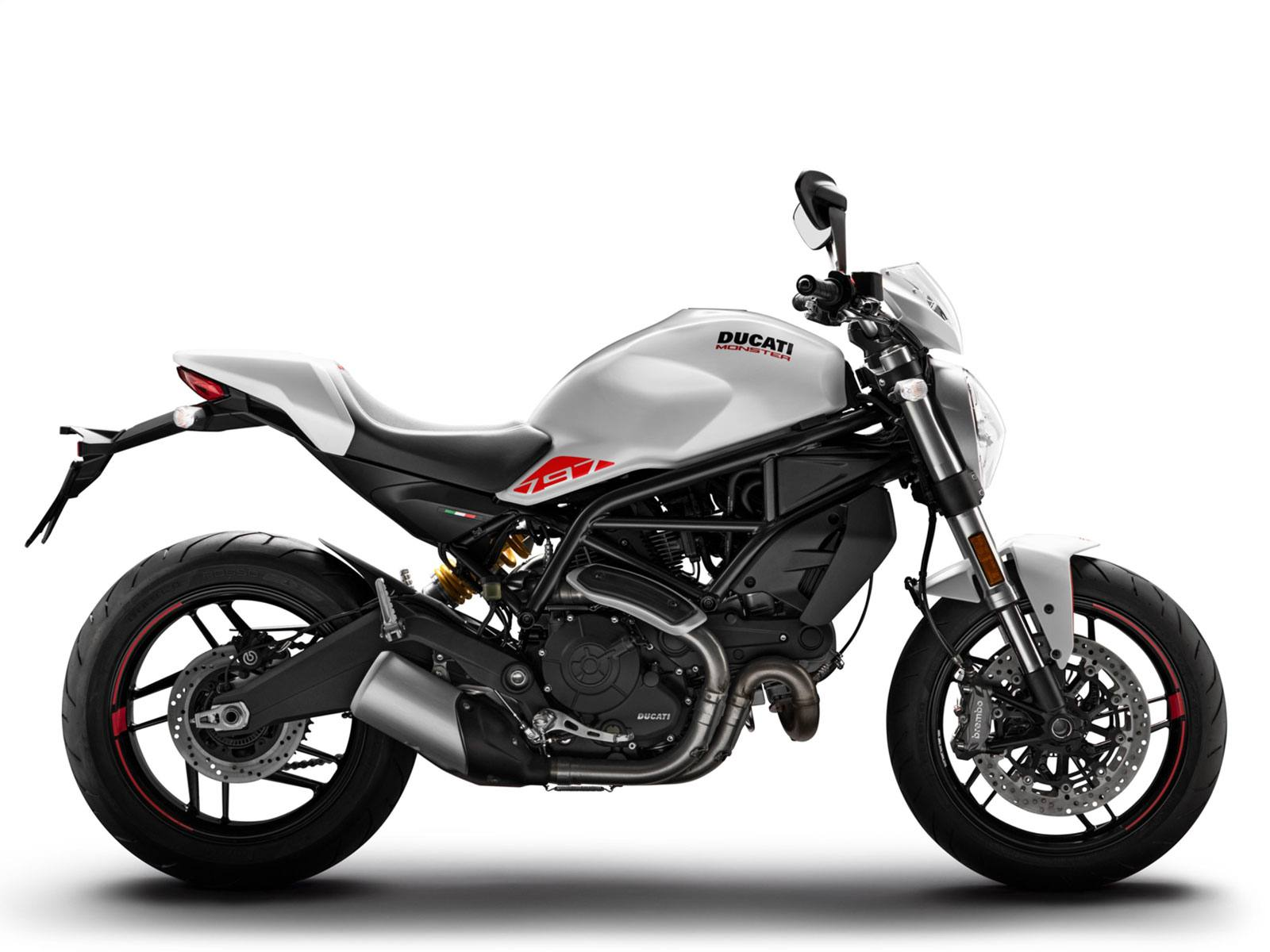 Мотоцикл DUCATI Monster 797 Plus - Star White Silk (2019)