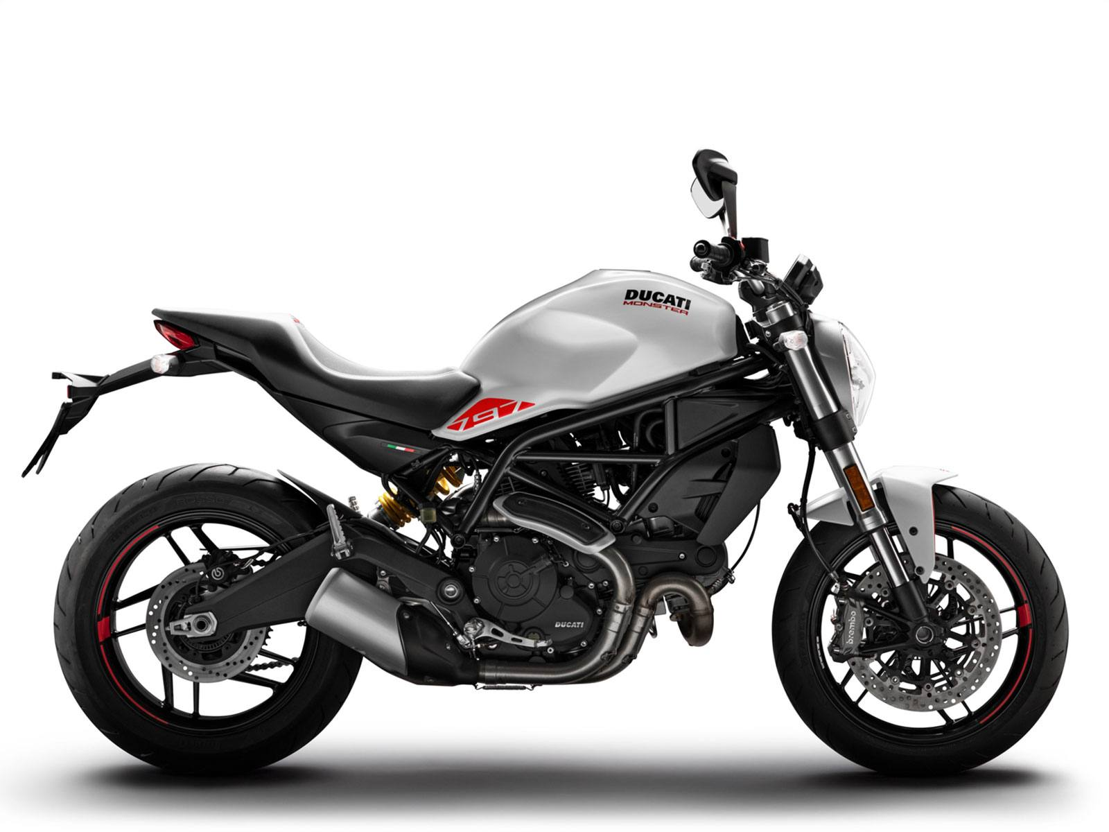 Мотоцикл DUCATI Monster 797 - Star White Silk (2019)
