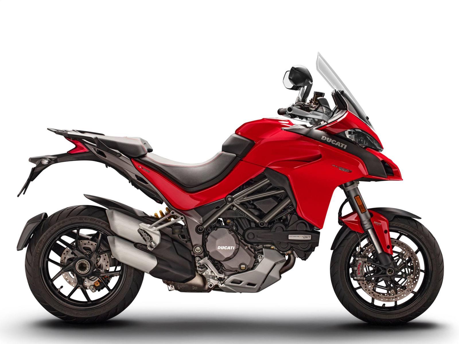 Мотоцикл DUCATI Multistrada 1260 S - Ducati Red (2019)