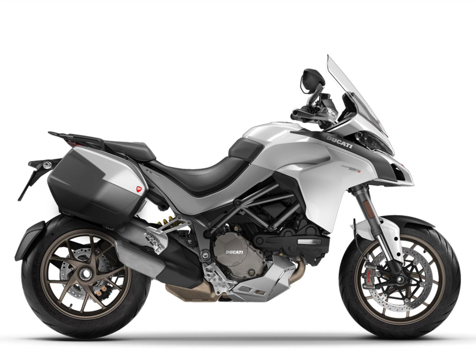 Мотоцикл DUCATI Multistrada 1260 S - Iceberg White + Touring Pack (2019)