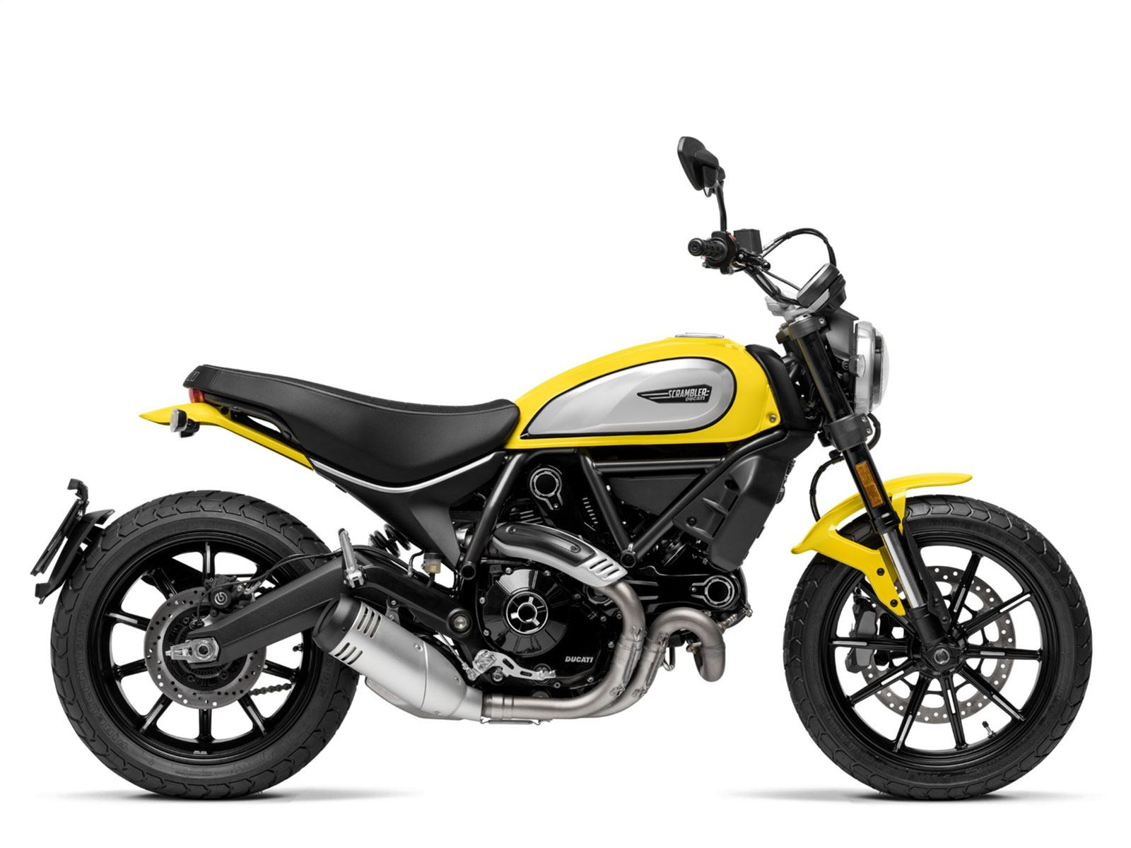 Мотоцикл DUCATI Scrambler Icon - Yellow (2019)