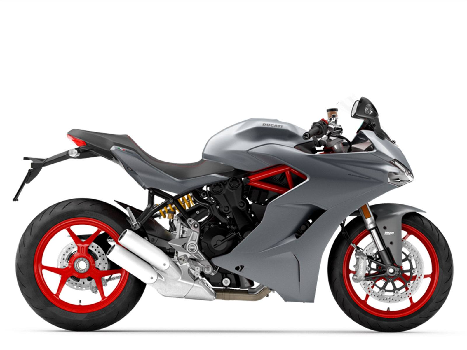 Мотоцикл DUCATI SuperSport - Titanium Grey (2019)