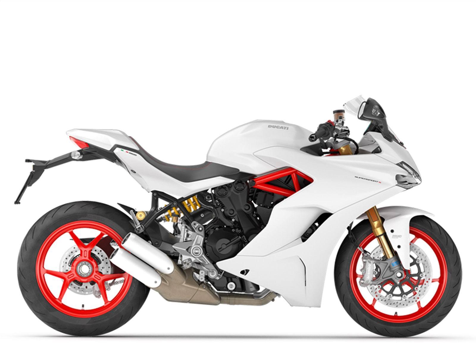 Мотоцикл DUCATI Supersport S - Star White Silk (2019)