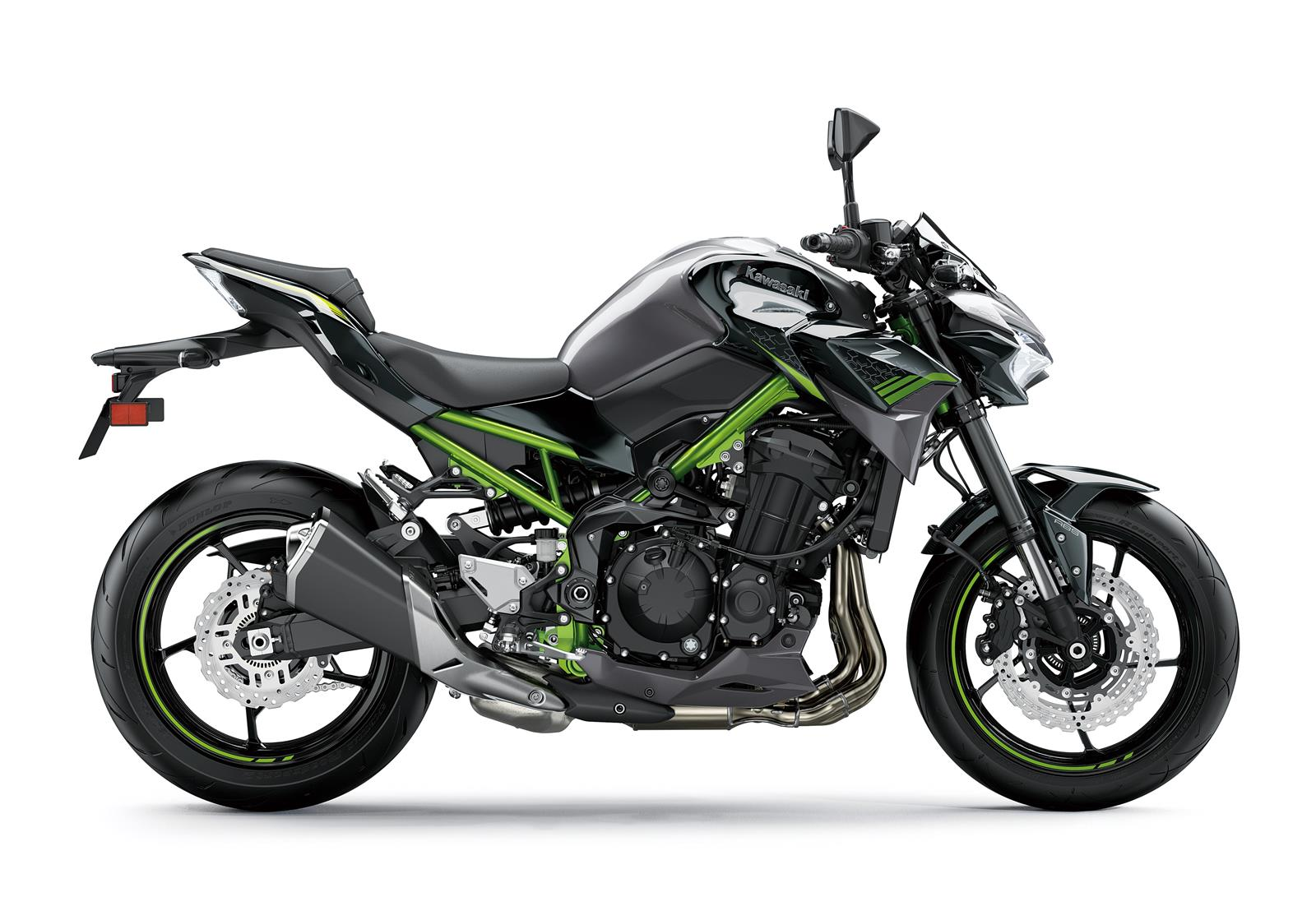 Мотоцикл KAWASAKI Z900 - Серый '2020