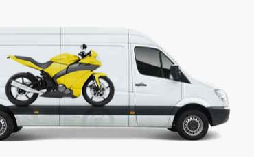 Фото услуги мотоэвакуатора - эвакуация и перевозка мотоцикла в Москве