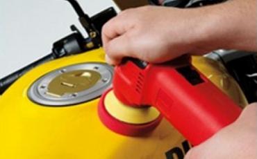 Фото - Услуга полировки лакокрасочного покрытия мотоцикла