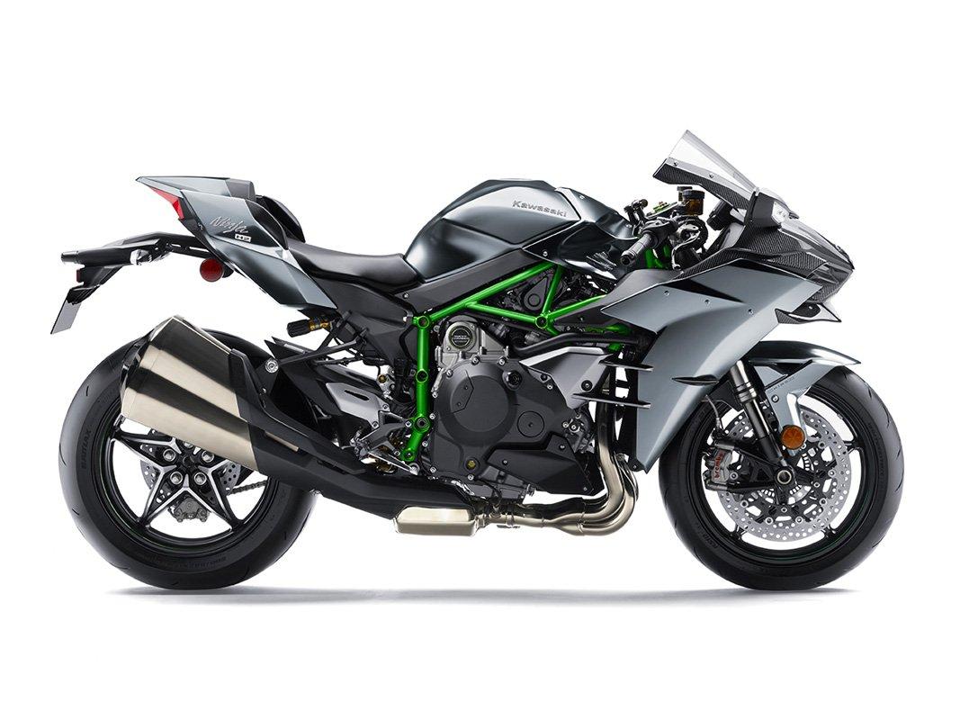 Мотоцикл KAWASAKI Ninja H2 Carbon - Серый (2019)