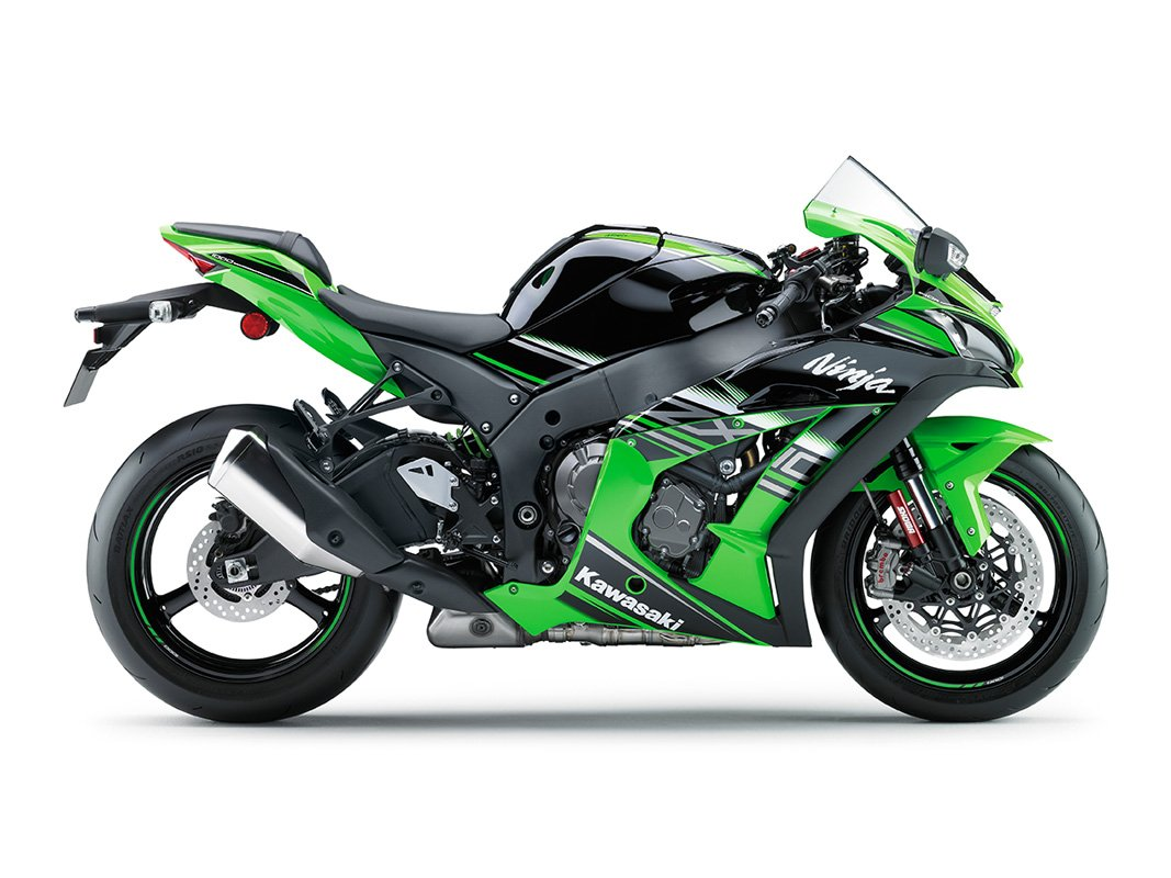 Мотоцикл KAWASAKI Ninja ZX-10R KRT Replica Зеленый (2018)