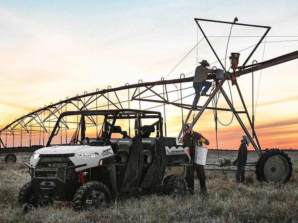 Polaris Ranger - машина для работы в самых разных условиях