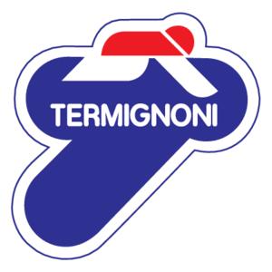 На фото - логотип компании Termignoni