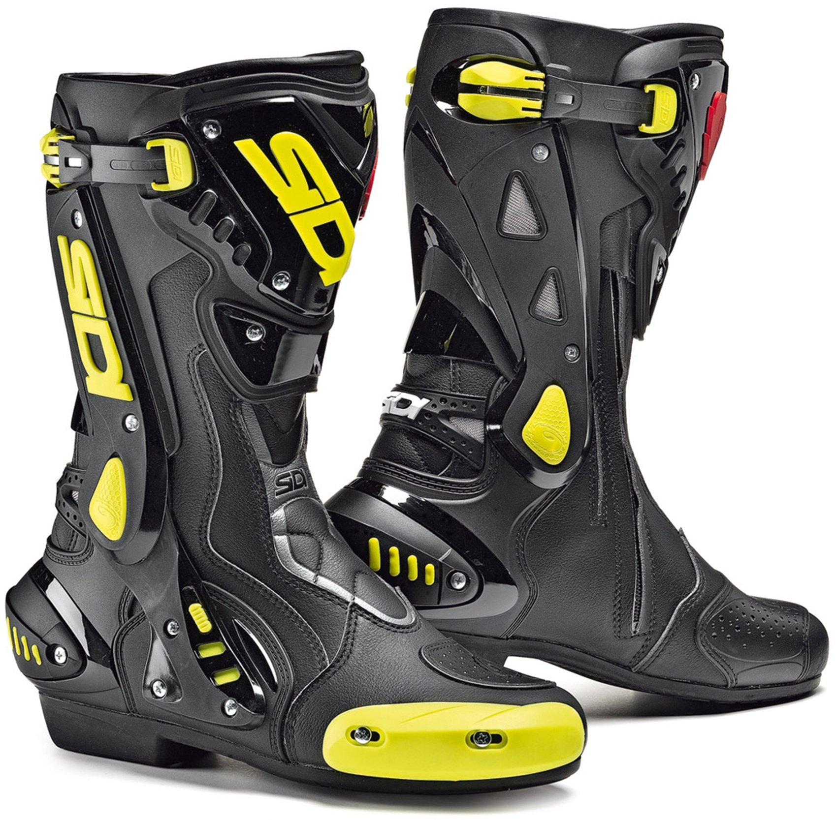 Мотоботы Sidi ST Black/Yellow Fluo
