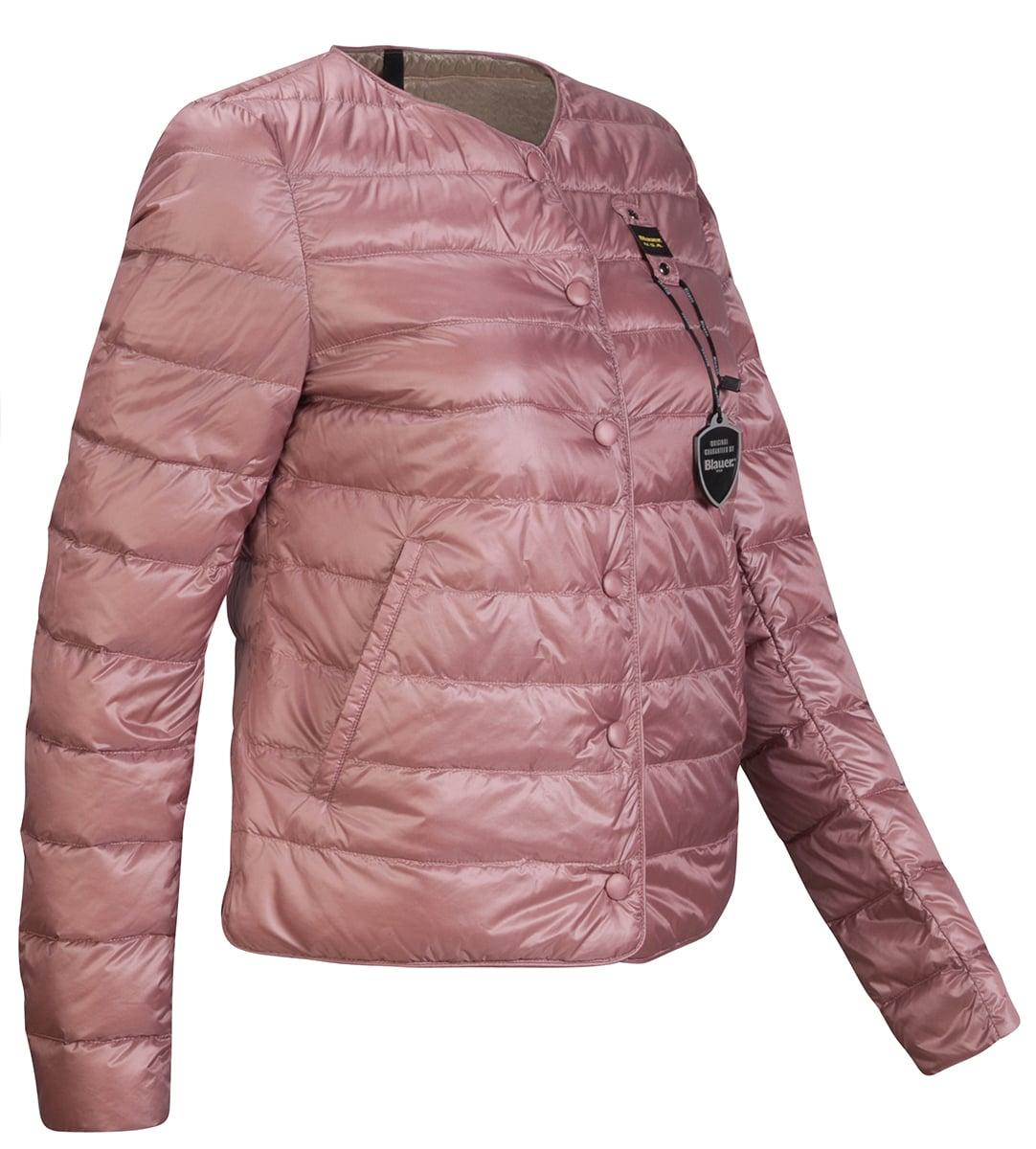 Пуховик женский Blauer USA розовый