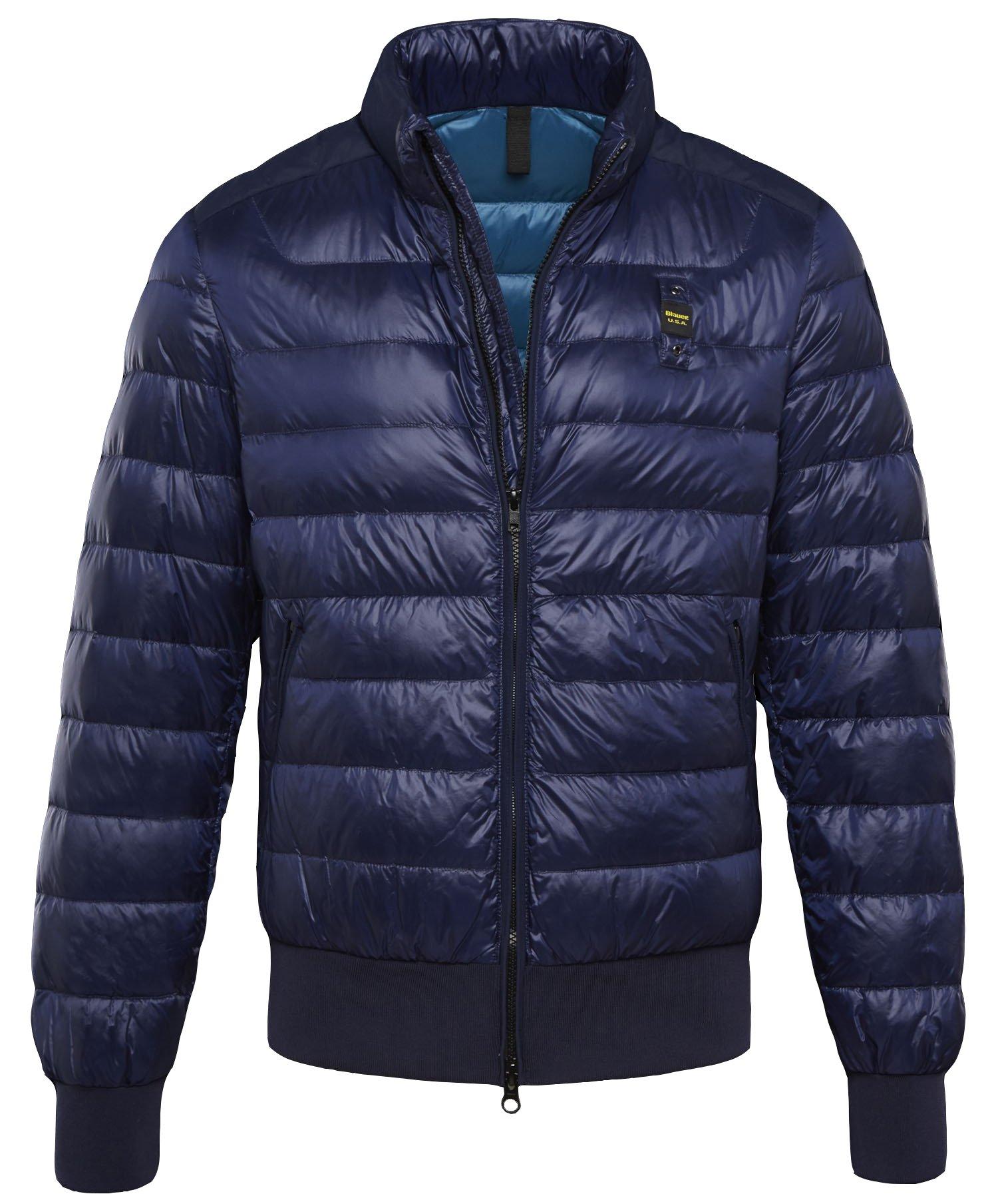 Пуховик Blauer USA Summerlight Glossy Down Jacket синий