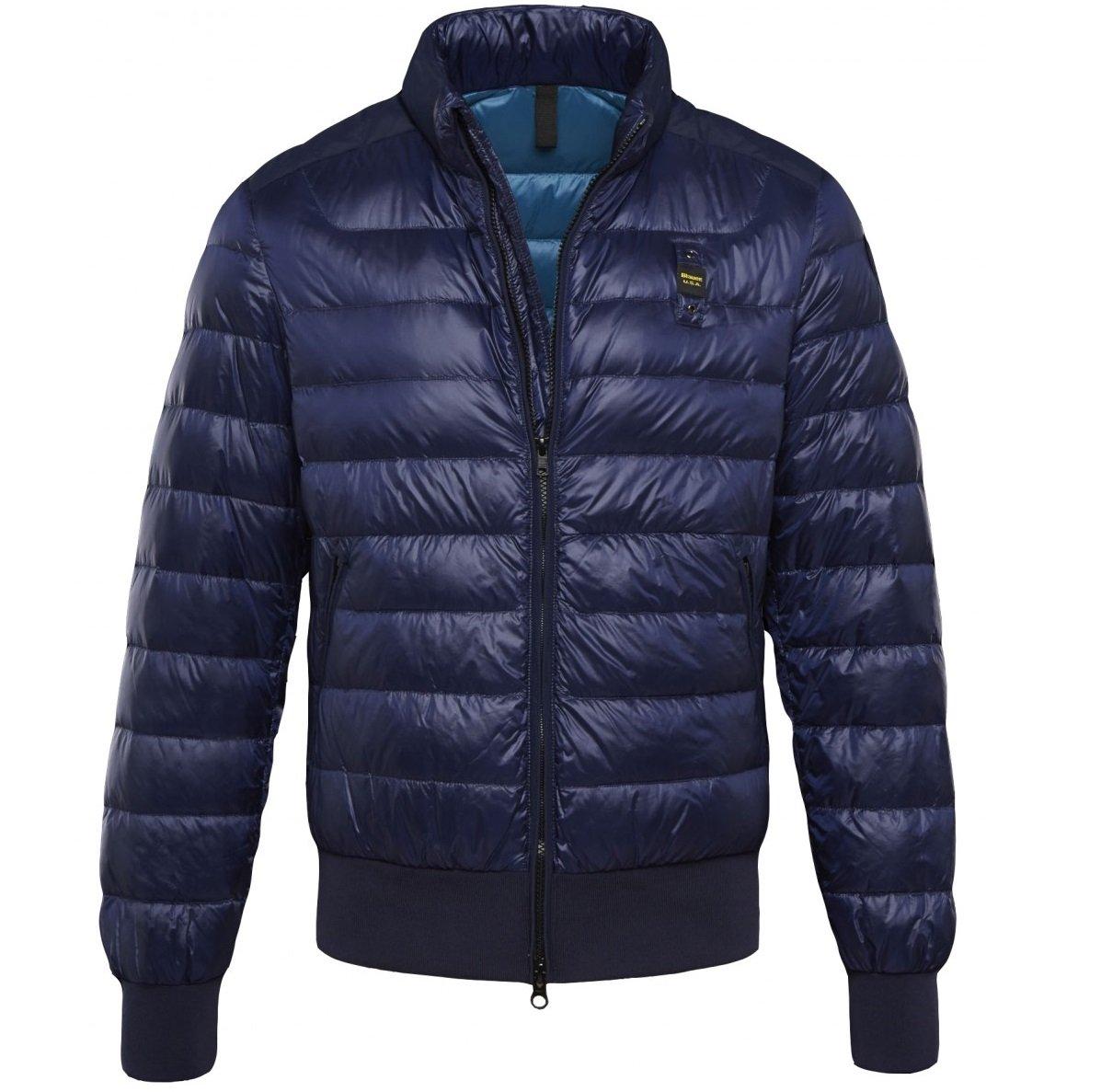 Пуховик BLAUER SUMMERLIGHT GLOSSY Down Jacket синий