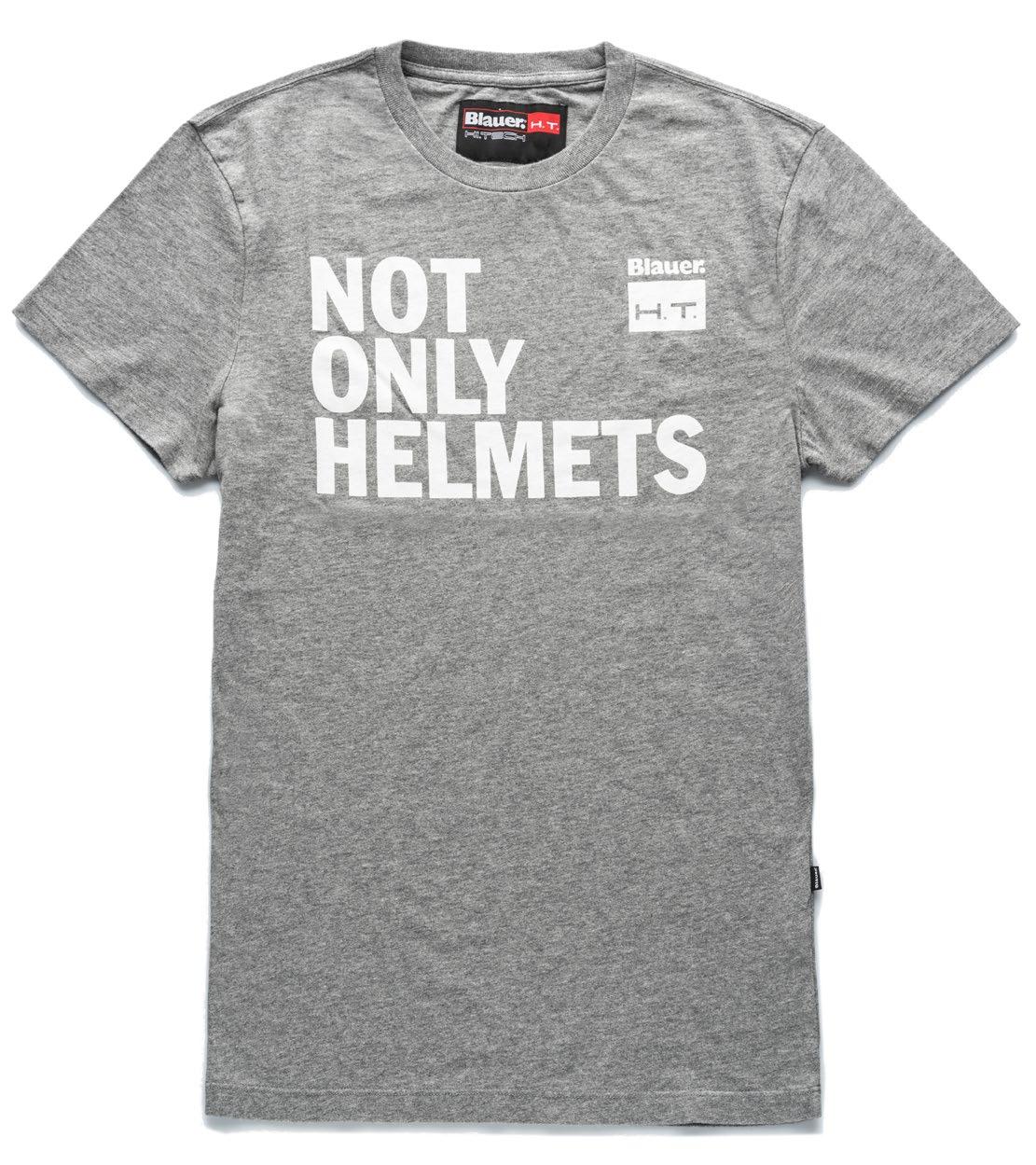 Футболка Blauer H.T. Not Only Helmets Серая