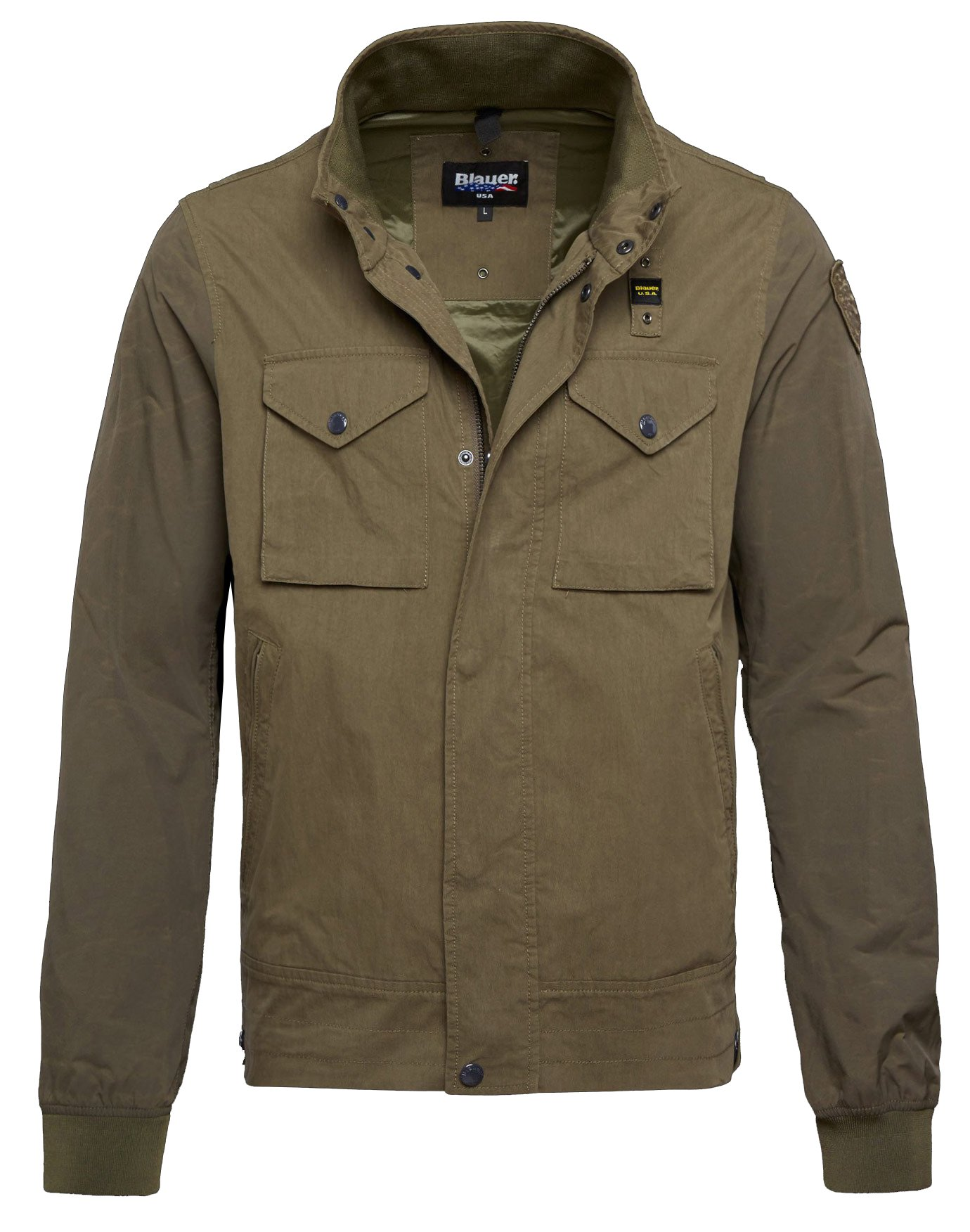 Куртка Blauer Мужская зеленая