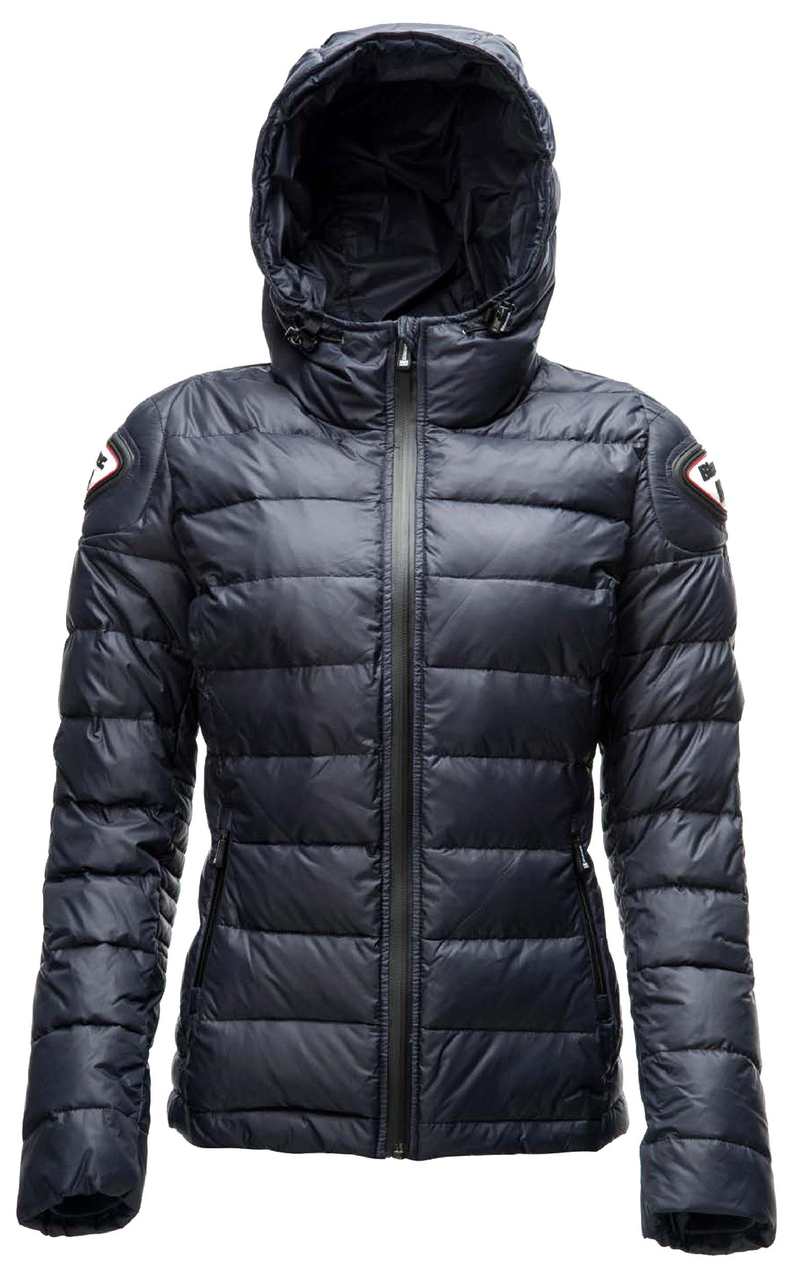 Куртка пуховая женская Blauer H.T. Easy Winter синяя