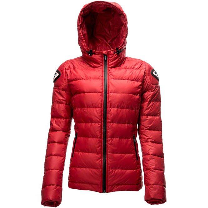 Куртка пуховая женская Blauer H.T. Easy Winter (Красная)