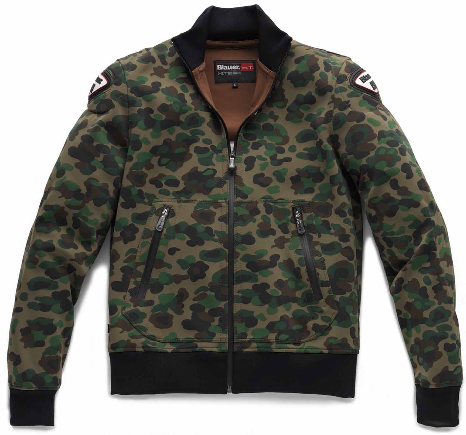 Куртка женская Blauer H.T. Easy Woman 1.0 Camouflage