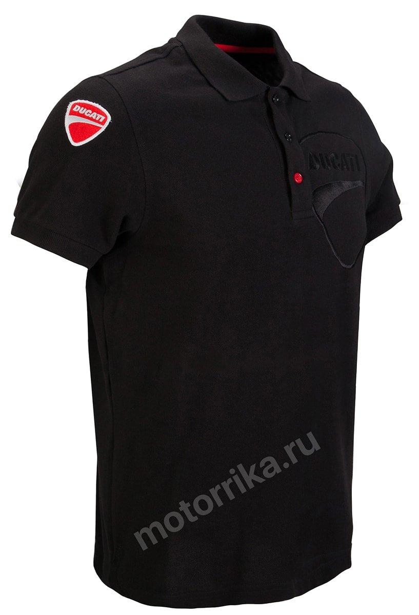 Футболка-поло Ducati Company 12 Polo Shirt Черная