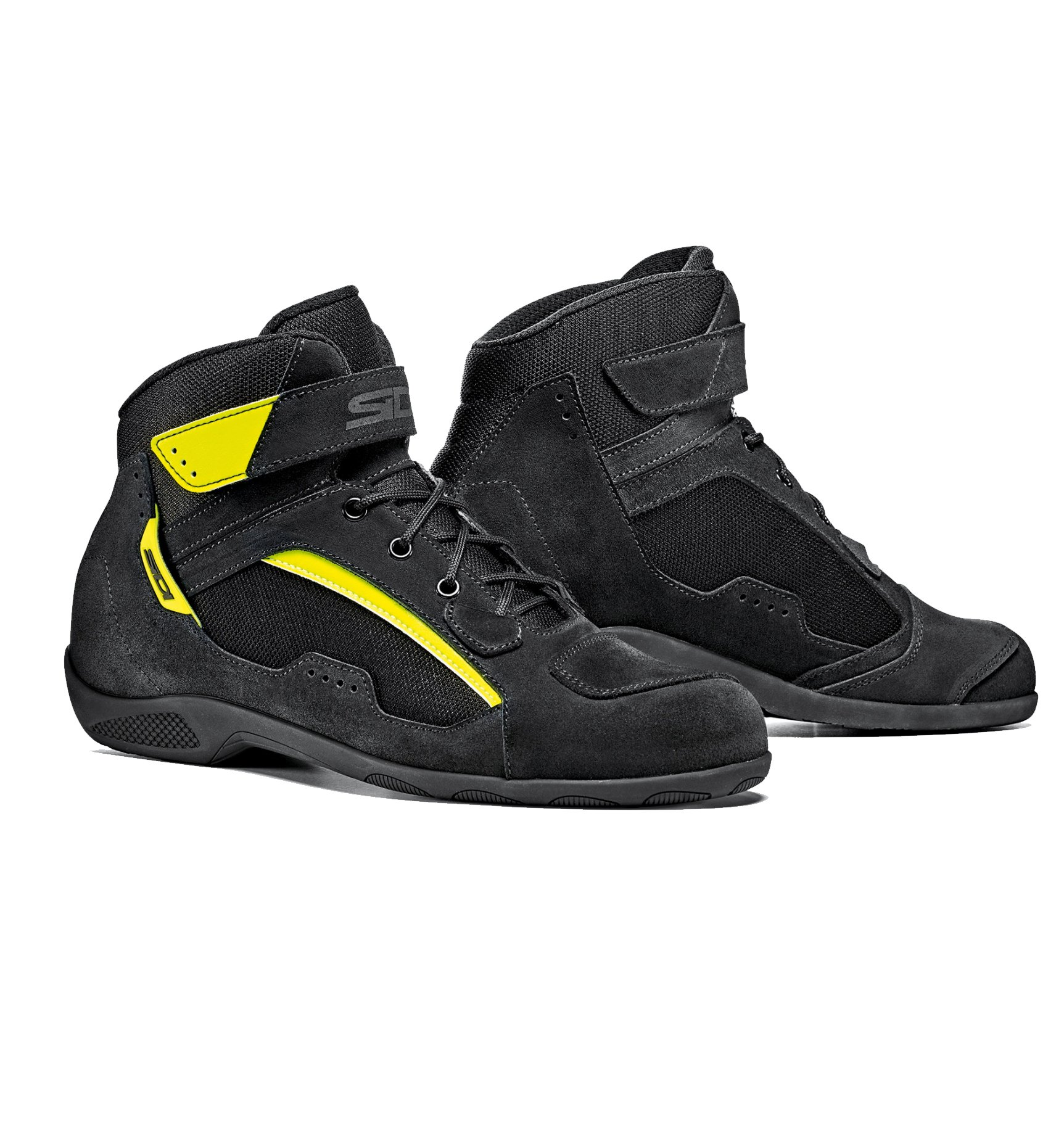 Мотокроссовки Sidi Duna Black/Yellow